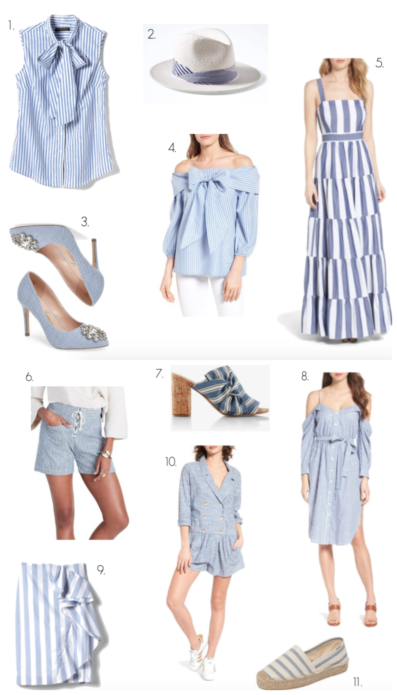 Nautical trend stripes forecasting dress for on every day in 2019