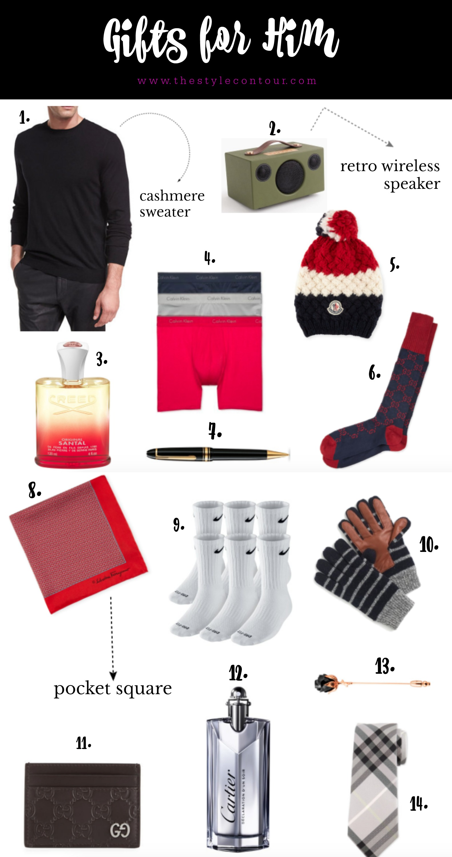 Gift Ideas for Him 2017 The Style Contour