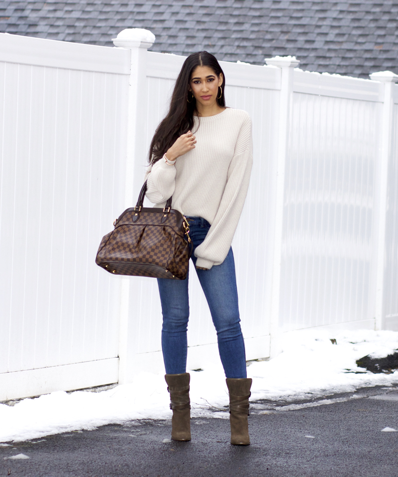 How to Create a Simple Cozy Winter Outfit - The Style Contour