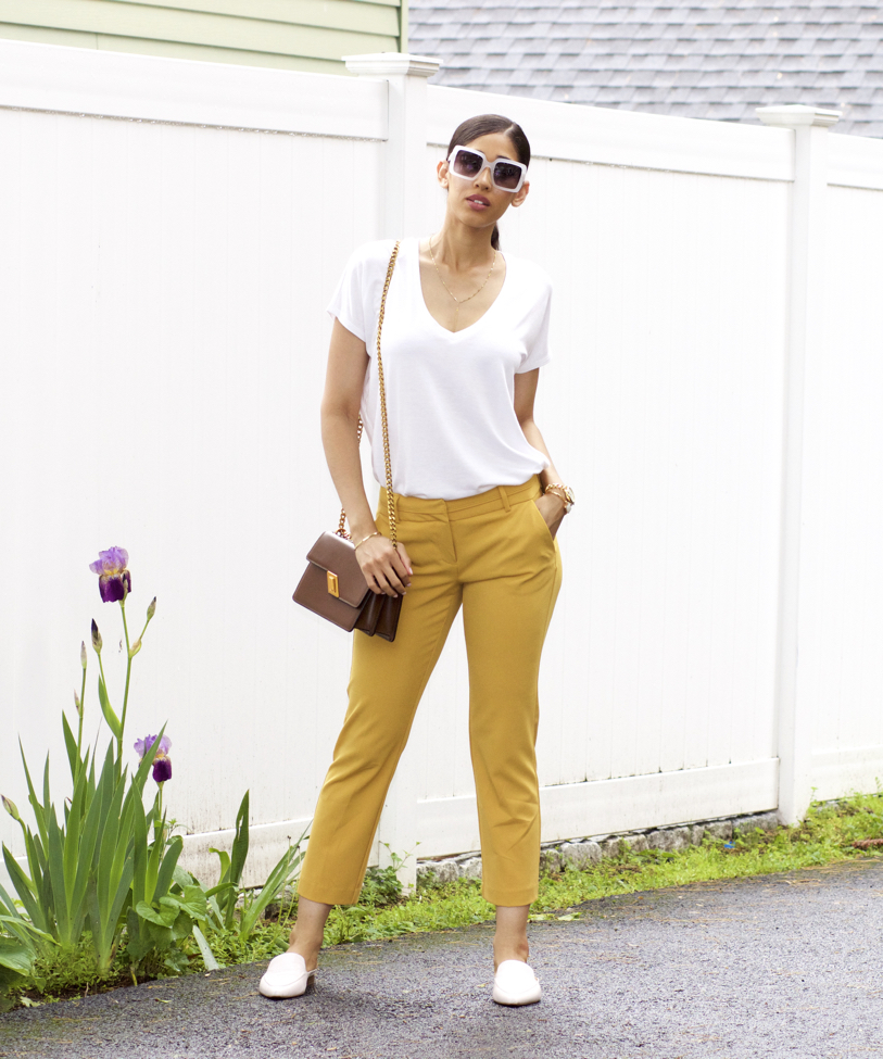 25aabf3e3b07 How to Wear Mustard Yellow in the Spring - The Style Contour
