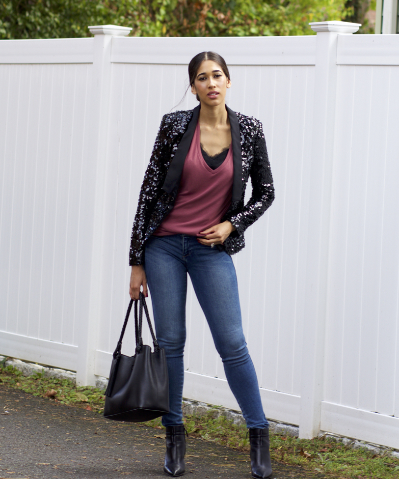 How to sequin wear blazers and jackets photo