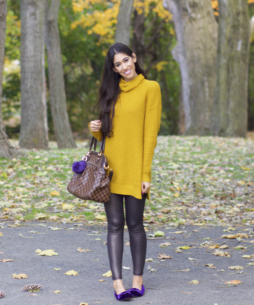 The Style Contour Mustard Yellow