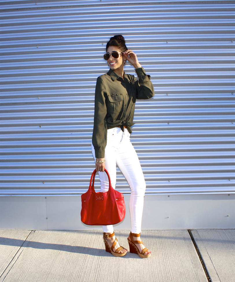 7 Outfit Ideas For Wearing Olive Green This Spring The Style Contour