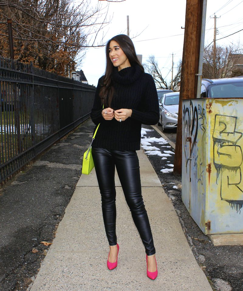 Pops of Neon - The Style Contour