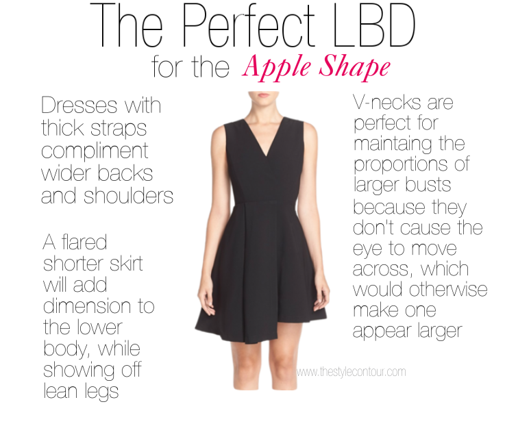 Tips To Find The Best Lbd For Your Body Shape The Style Contour