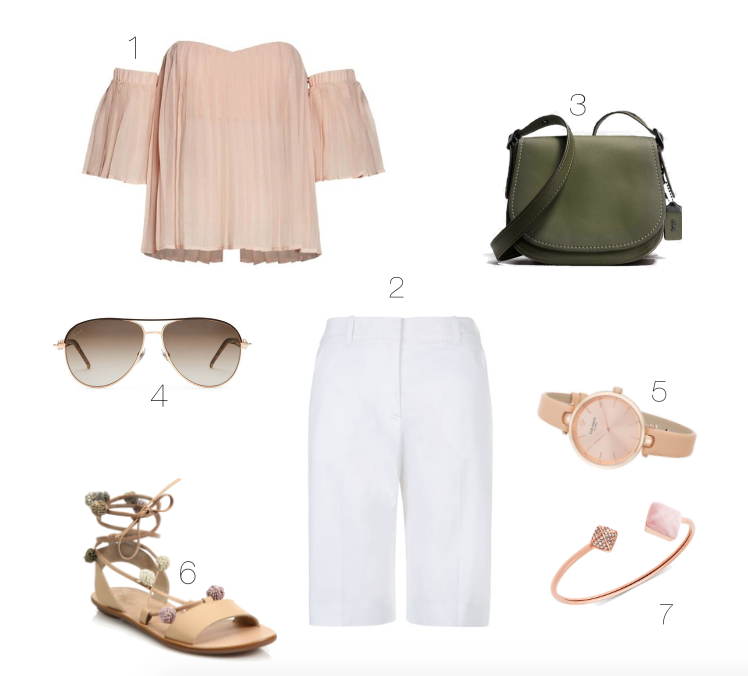 3 Ways to Wear Bermuda Shorts This Summer for the Pear