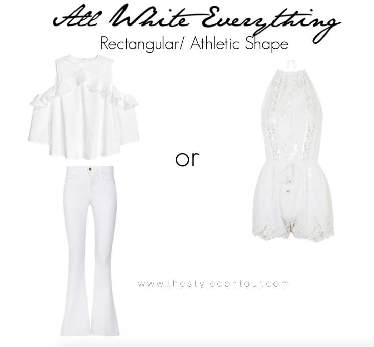How to Wear the All White Look for Your Body Shape! - The Style Contour