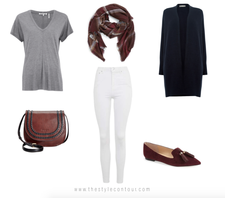 b3ec747e9f How to Wear White Jeans in the Fall. Yes