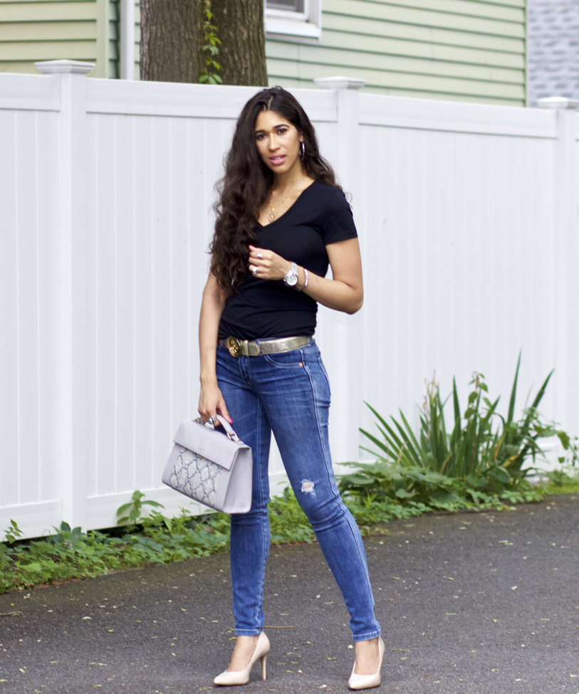In thing jeans